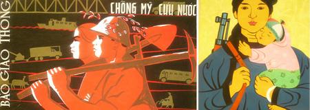 Vietnam Propaganda Art Posters
